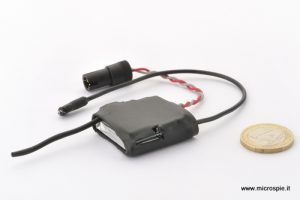 Cimice gsm micro per auto a batteria