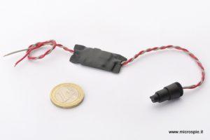 Microalimentatore per microspia gsm